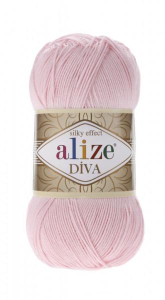Poze Fir de tricotat sau crosetat - Fir microfibra ALIZE DIVA ROZ 393