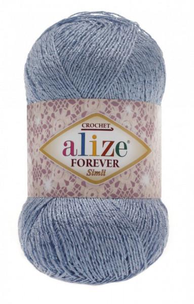 Poze Fir de tricotat sau crosetat - Fir microfibra ALIZE FOREVER SIMLI BLEO 40