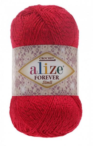 Poze Fir de tricotat sau crosetat - Fir microfibra ALIZE FOREVER SIMLI ROZ 396