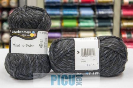 Poze Fir de tricotat sau crosetat - Fir SCHACHENMAYR Mouline Twist GRI 00098