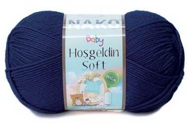 Poze Fir de tricotat sau crosetat - Fire amestec BAMBUS + POLIAMIDA NAKO Hoşgeldin Soft BLEOMAREN 10094