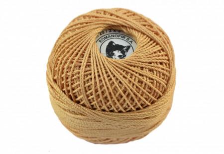 Poze Fir de tricotat sau crosetat - Fire Bumbac 100% ANGELICA ROMANOFIR BOBINA BEJ 1319