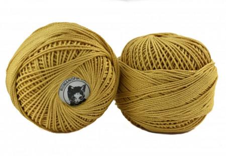 Poze Fir de tricotat sau crosetat - Fire Bumbac 100% ANGELICA ROMANOFIR BOBINA BEJ 1315