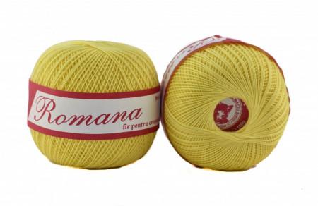 Poze Fir de tricotat sau crosetat - Fire Bumbac 100% ROMANA - ROMANOFIR BOBINA 1308