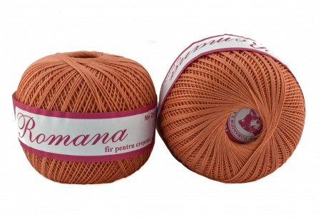 Poze Fir de tricotat sau crosetat - Fire Bumbac 100% ROMANA - ROMANOFIR BOBINA 1326