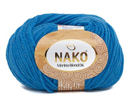 Poze Fir de tricotat sau crosetat - Fire din lana 100% Nako Merino Blend DK - ALBASTRU COD 1256