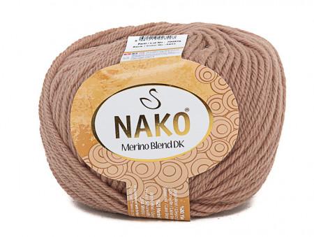 Poze Fir de tricotat sau crosetat - Fire din lana 100% Nako Merino Blend DK - BEJ COD 6942