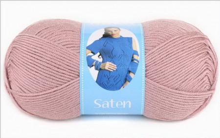 Poze Fir de tricotat sau crosetat - Fire Nako SATEN ROZ PUDRA 2478