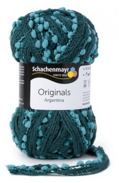 Poze Fir de tricotat sau crosetat - Fire pretricotate esarfa Argentina A86