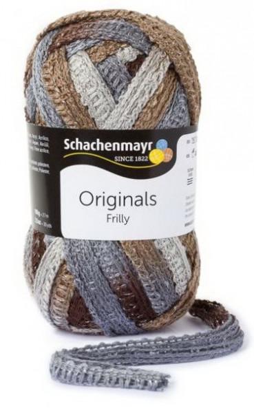 Poze Fir de tricotat sau crosetat - Fire pretricotate esarfa FRILLY degrade 081