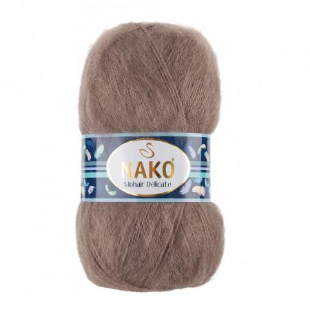 Poze Fir de tricotat sau crosetat - Fire tip mohair acril NAKO MOHAIR DELICATE - BEJ COD 6704