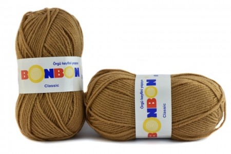 Poze Fir de tricotat sau crosetat - Fire tip mohair din acril BONBON CLASIC MARO 98226