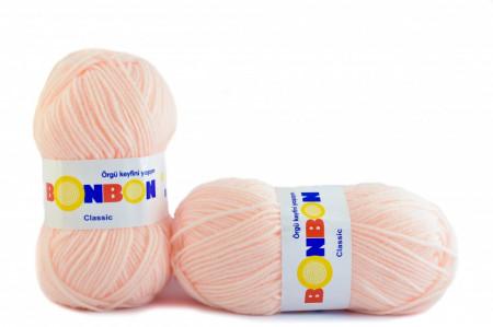 Poze Fir de tricotat sau crosetat - Fire tip mohair din acril BONBON CLASIC FREZ 98335