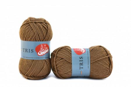Poze Fir de tricotat sau crosetat - Fire tip mohair din acril CANGURO - TRIS BEJ 379