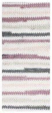 Poze Fir de tricotat sau crosetat - Fire tip mohair din acril degrade Nako Lolipop mix 80564