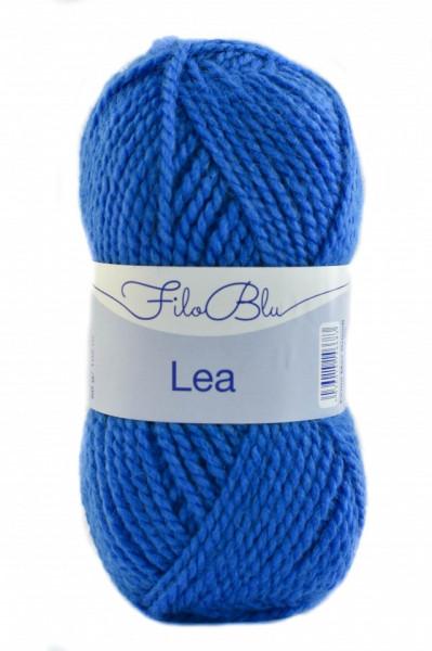 Poze Fir de tricotat sau crosetat -Fire tip mohair din acril GRUNDL - LEA - 05-ALBASTRU