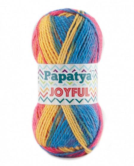 Poze Fir de tricotat sau crosetat - Fire tip mohair din acril Kamgarn Papatya Joyful degrade 39