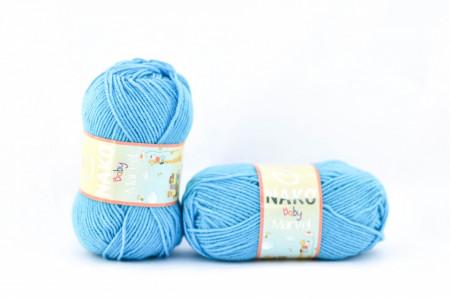 Poze Fir de tricotat sau crosetat - Fire tip mohair din acril Nako Baby MARVEL TURQUAZ 235