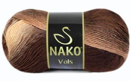 Poze Fir de tricotat sau crosetat - Fire tip mohair din acril premium Nako VALS DEGRADE 85807