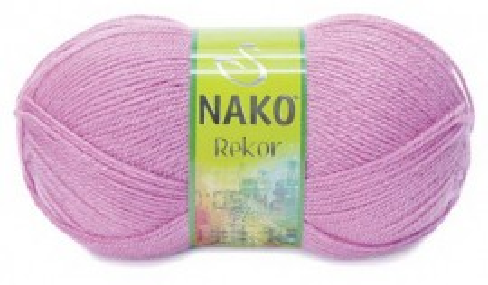 Poze Fir de tricotat sau crosetat - Fire tip mohair din acril premium Nako REKOR LILA 1249