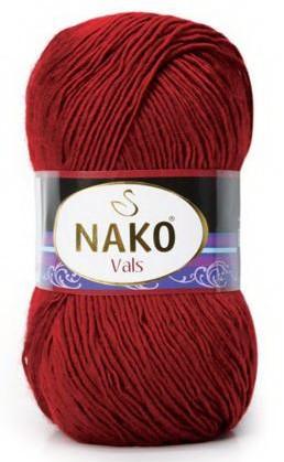 Poze Fir de tricotat sau crosetat - Fire tip mohair din acril premium Nako VALS ROSU 1175