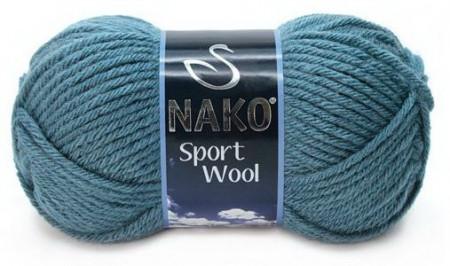 Poze Fir de tricotat sau crosetat - Fire tip mohair din acril si lana Nako Sport Wool Bleo 185