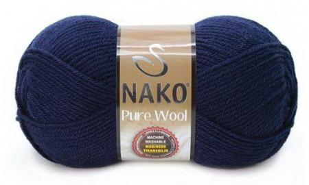 Poze Fir de tricotat sau crosetat - Fire tip mohair din lana 100% Nako PURE WOOL BLEOMAREN 2418