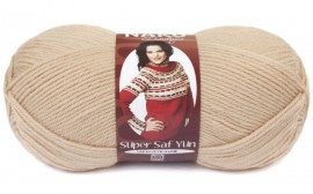 Poze Fir de tricotat sau crosetat - Fire tip mohair din lana 100% Nako Super SAF YUN BEJ 219