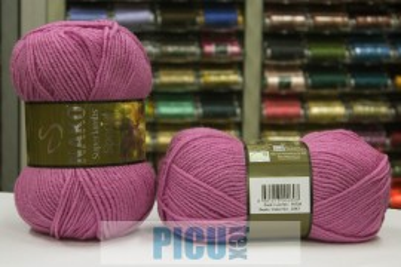 Poze Fir de tricotat sau crosetat - Fire tip mohair din lana 50% si acril 50% Nako Superlambs Special MOV 2243