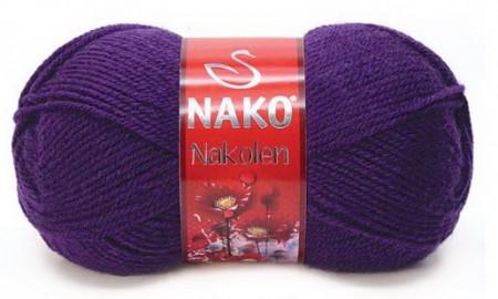 Poze Fir de tricotat sau crosetat - Fire tip mohair din lana 50% si acril 50% Nakolen MOV 188