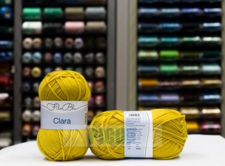 Poze Fir de tricotat sau crosetat - Fire tip mohair din poliester Filo Blu - Clara 10