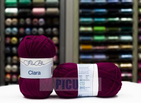Poze Fir de tricotat sau crosetat - Fire tip mohair din poliester Filo Blu - Clara 15