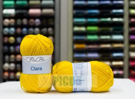 Poze Fir de tricotat sau crosetat - Fire tip mohair din poliester Filo Blu - Clara 20
