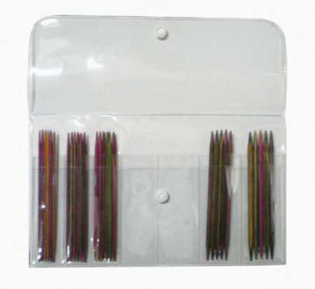 Poze KnitPro SYMFONIE WOOD - set andrele pentru sosete -10 cm