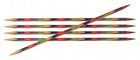 Poze KnitPro SYMFONIE WOOD - set andrele pentru sosete - 20 cm