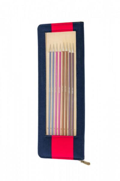 Poze KnitPro ZING - set andrele drepte 25 cm