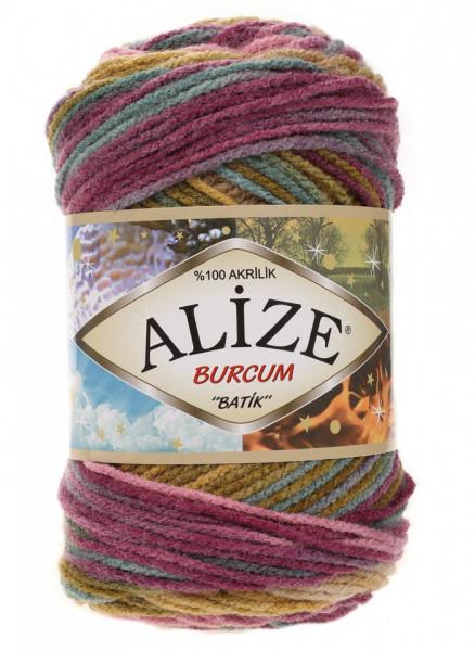 Poze Fir de tricotat sau crosetat - Fir ACRILIC ALIZE BURCUM BATIK DEGRADE 4341