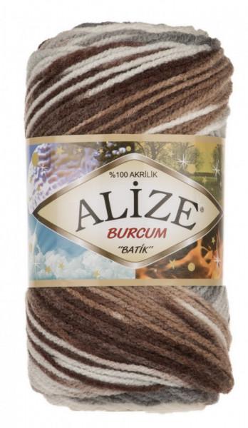 Poze Fir de tricotat sau crosetat - Fir ACRILIC ALIZE BURCUM BATIK DEGRADE 5742