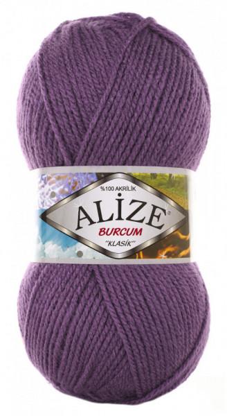 Poze Fir de tricotat sau crosetat - Fir ACRILIC ALIZE BURCUM KLASIK MOV 206