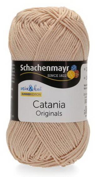Poze Fir de tricotat sau crosetat - Fir BUMBAC 100% MERCERIZAT CATANIA IVORY 436
