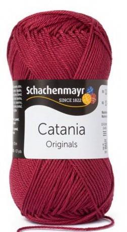 Poze Fir de tricotat sau crosetat - Fir BUMBAC 100% MERCERIZAT CATANIA BORDEAUX 425