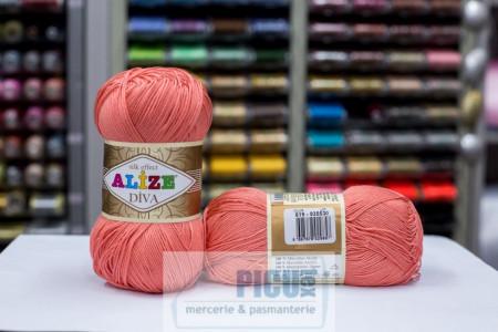 Poze Fir de tricotat sau crosetat - Fir microfibra ALIZE DIVA FREZ 619