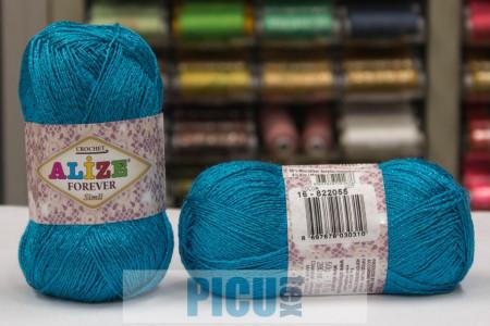 Poze Fir de tricotat sau crosetat - Fir microfibra ALIZE FOREVER SIMLI BLEO 16