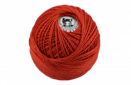 Poze Fir de tricotat sau crosetat - Fire Bumbac 100% ANGELICA ROMANOFIR BOBINA ROSU 1332