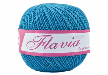 Poze Fir de tricotat sau crosetat - Fire Bumbac 100% FLAVIA ROMANOFIR BOBINA TURQUAZ 94