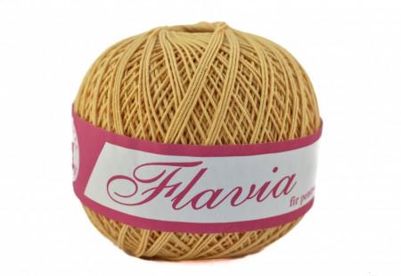 Poze Fir de tricotat sau crosetat - Fire Bumbac 100% FLAVIA ROMANOFIR BOBINA BEJ 1319