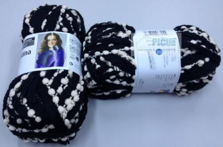 Poze Fir de tricotat sau crosetat - Fire pretricotat esarfa Argentina A102