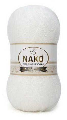 Poze Fir de tricotat sau crosetat - Fire tip mohair acril NAKO ANGORA LUKS SIMLI COD 208
