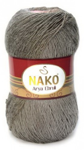 Poze Fir de tricotat sau crosetat - Fire tip mohair acril NAKO ARYA EBRULI DEGRADE 86620