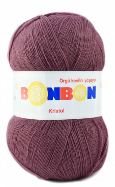Poze Fir de tricotat sau crosetat - Fire tip mohair din acril BONBON KRISTAL 98303